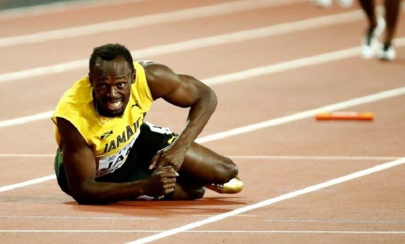 Болт не ја заврши последната трка  а Јамајка остана без медал и пласман   Тажен крај за најбрзиот човек на светот  видео фото